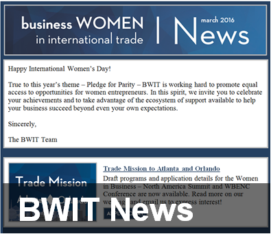Subscribe to BWIT News