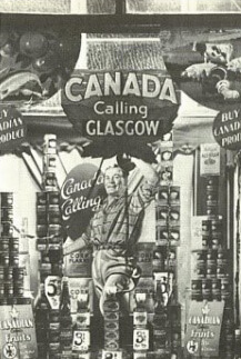 The Canada Shop, stocked with Canadian products, opens for two weeks in Glasgow, Scotland.
