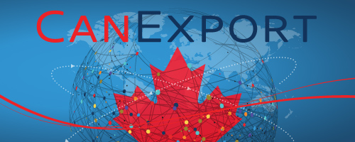 Apply for CanExport. canada.ca/canexport