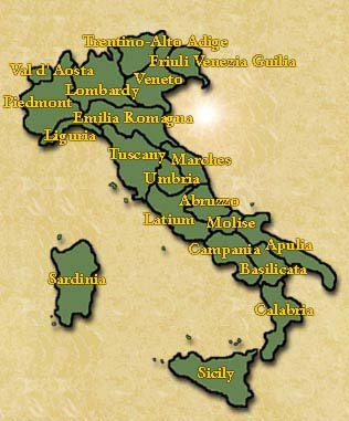 Web links to regions and cities italy altavistaventures Choice Image