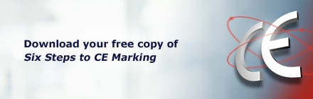 Download your free copy of Six Steps to CE Marking